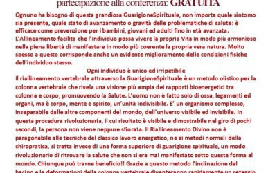 Presentazione Allineamento Divino a Torino